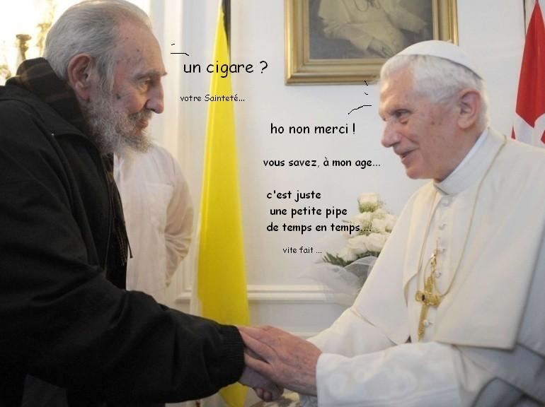Pape à Cuba dans actualite pip